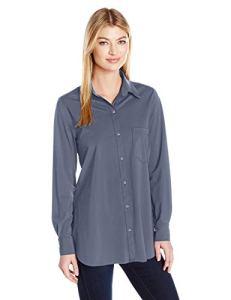 Lyssé Femme 23-1470-M3 Chemise boutonnée – Bleu – Taille XS