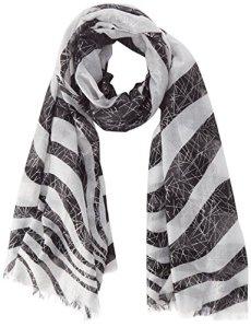 Morgan 171-5BIFO.A Foulard, Multicolore (Noir/Blanc), Unique (Taille Fabricant: TTU) Femme