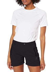 Odlo Shorts Conversion Femme, Black, FR : L (Taille Fabricant : 44)