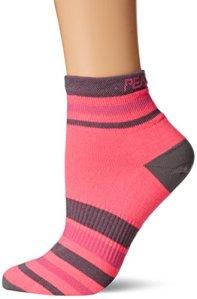 PEARL IZUMI–Ride Femme Elite Chaussettes Basses, Femme, Pi Core Screaming Pink, Moyen