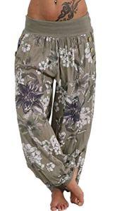 dahuo – Pantalon – Femme – Vert – S