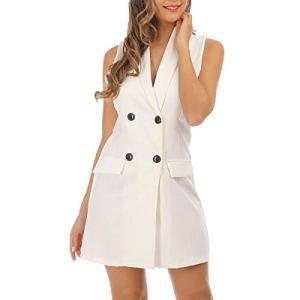 La Modeuse – Robe blazer sans manches