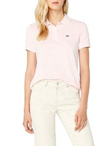 Lacoste PF7839 Polo, Rose (Flamant), (Taille Fabricant : 46) Femme