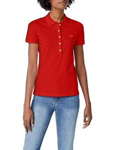 Lacoste PF7845 Polo, Rouge 240, (Taille Fabricant:36) Femme