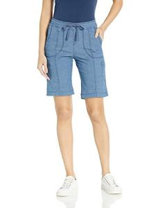 LEE Women's Flex-to-go Relaxed Fit Pull-on Cargo Bermuda Short