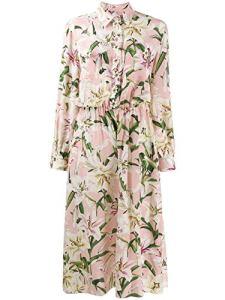 Dolce E Gabbana Femme F6e3zzhs15fhfkk8 Rose Soie Combinaison