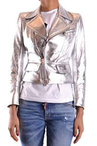 Dsquared2 Femme S75bn0503sy0227905 Argent Cuir Blazer