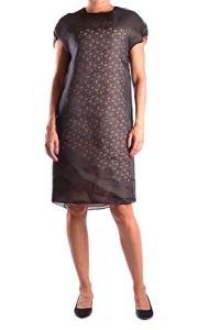Fendi Femme Mcbi15979 Noir Soie Robe