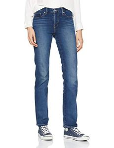 Levi's 314 Shaping Straight Jean Droit, Bleu (Shaker Maker 0054), W28/L34 (Taille Fabricant: 28 34) Femme