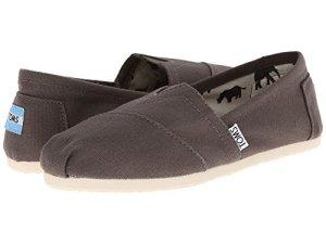 TOMS 1001B07, Sneakers Femme – Noir – Cendre, 39 EU