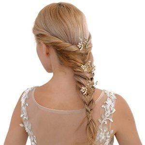 azalées Mariage Bandeau Épingle à cheveux Pince à cheveux de mariage Vin Bandeau – –