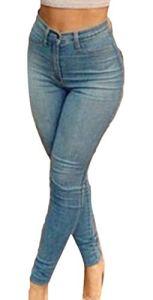 dahuo – Jeans – Femme – Bleu – XS