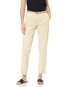 ESPRIT 039ee1b013 Pantalon, Light Beige 290), W40/L30 (Taille fabricant: 38/30) Femme