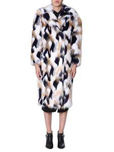 Givenchy Femme Bw003x1z0v960 Multicolore Acrylique Manteau