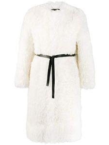 Givenchy Femme Bwc052700m105 Blanc Laine Manteau