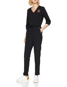 Kaporal Bijou, Combinaison Femme, Noir (Black), Medium (Taille Fabricant:Medium)
