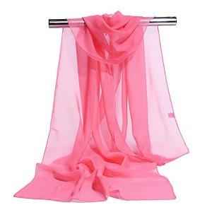 LAAT Foulards Echarpe Foulard Long dame coton candy couleur écharpe châle écharpe femme écharpe coton couleur unie écharpe wrap écharpes de protection solaire Été