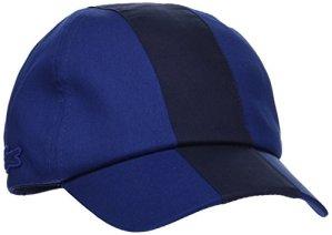 Lacoste RK7869 Casquette de Baseball, Bleu (Methylene/Marine), Large (Taille Fabricant : L) Femme