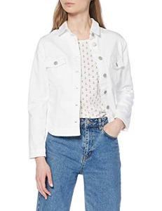 Le Temps des Cerises FLILLY00WLCOL Veste sans Manches, Blanc (White 1001), Large (Taille Fabricant:L) Femme