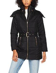 Only Onlbrooke Nylon Coat OTW Manteau, Noir Black, 36 (Taille Fabricant: Small) Femme