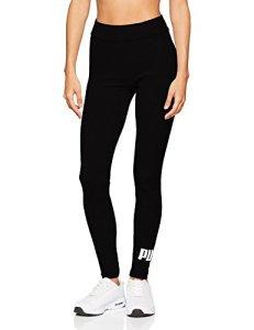 PUMA ESS Logo Leggings Pantalon de Sport Femme, Cotton Black, FR (Taille Fabricant : XS)