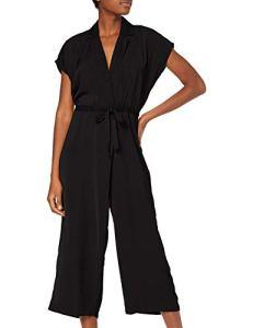 Vero Moda Vmjenner S/l Jumpsuit Sb5 Combinaison, Noir Black, Medium Femme