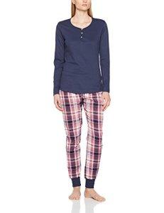 Esprit 107ef1y005 Ensemble De Pyjama, Rose (Dark Old Pink 675), 44 Femme