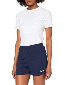Nike Academy18 Knit Short d'entrainement Femme, Bleu (Obsidien/Blanc), FR : L (Taille Fabricant : L)