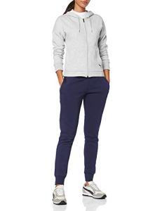 PUMA Classic HD Sweat Suit cl Survêtement Femme, Light Gray Heather, FR : S (Taille Fabricant : S)