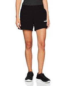 PUMA ESS Sweat Shorts TR Pantalons Femme, Cotton Black, FR (Taille Fabricant : XL)