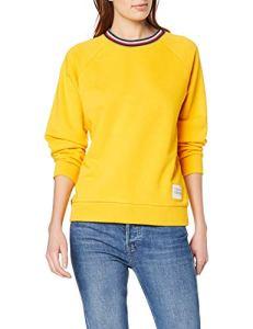 Tommy Hilfiger TALITA C-NK Sweatshirt LS Sweat-Shirt, Jaune (Spectra Yellow 794), L Femme