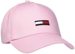 Tommy Hilfiger Tjw Flag Cap Casquette De Baseball, Rose, Unique (Taille Fabricant:) Femme