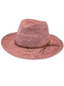 Barts-Chapeau de Paille Rose Modèle Femme
