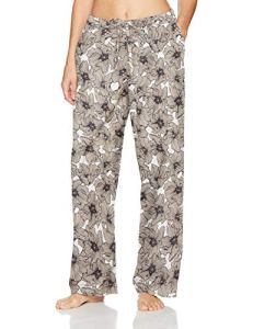 Hanro Sleep and Lounge Woven Long Pant Bas de Pyjama, Pastel Flowers, S Femme