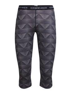 Icebreaker WMNS Oasis Legless Diamond Line Pantalon Fonctionnel M Blizzard HTHR/Black