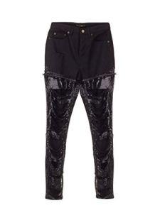 Saint Laurent Luxury Fashion Femme 578079YF8691080 Noir Pantalon | Automne_Hiver