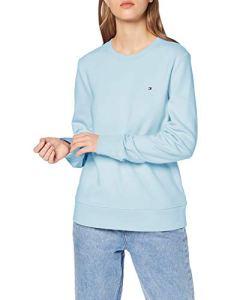 Tommy Hilfiger Claire Sweatshirt C-NK Ls Sweat-Shirt, Bleu (Cerulean 474), Medium Femme