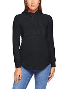 adidas Sport ID Sweat-Shirt Femme, Noir, XL