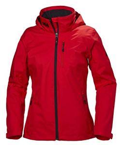 Helly Hansen HH W Crew Hooded Midlayer Jacket – Veste imperméable et isolante pour femme avec capuche – Vêtement thermique pour utilisation quotidienne – Idéale pour les activités nautiques