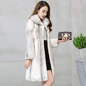 JKYIUBG Doudoune Femmes 100%Manteau d'hiver Mode féminine Vestes et Manteaux Chauds Abrigos Mujer Invierno 2019, YuanSe, L