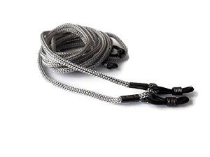 4 X Spécial Cordons Gris pour Lunettes /Chaîne corde de cou