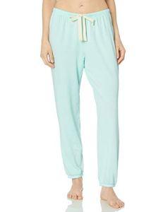 Amazon Essentials Lightweight Lounge Terry Jogger Pant pajama-bottoms, Pale Aqua, US XXL (EU 3XL-4XL)