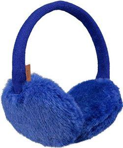 Barts Plush Earmuffs Echarpe, Bleu (Blu 0004), Unique (Taille Fabricant: Uni) Femme