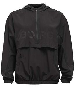 Björn Borg Running Jacket Cash Anorak, Black Beauty, 68 Femme