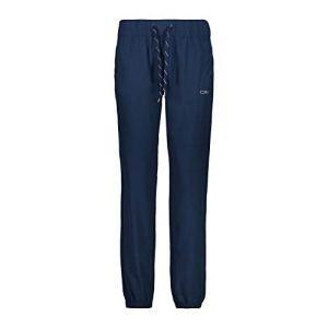 CMP 3C83176 Pantalon de Running léger pour Femme – Bleu – L