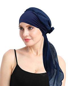 des Cadeaux pour Les Femmes avec Un Cancer du Coton Bambou coiffures pour Perte de Cheveux Sensible Scalp Dormir pac
