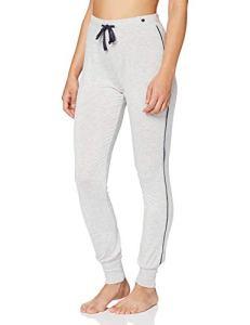 Esprit Jayla Long Pant Bas De Pyjama, Gris (Light Grey 040), 38 (Taille Fabricant: 36) Femme