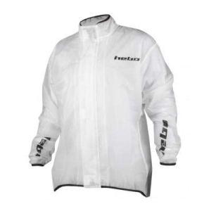 HE5718 – Veste imperméable imperméable à leau de Pluie TRANP Couleur Transparente Taille S