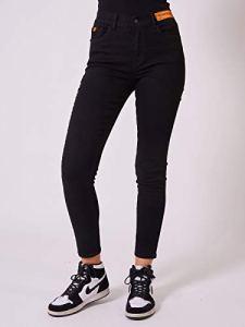 Jean Skinny fit étiquette Logo Noir 34fr
