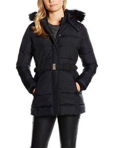 Kaporal Caspi Manteau, Noir (Black), FR: 36 (Taille fabricant: S) Femme